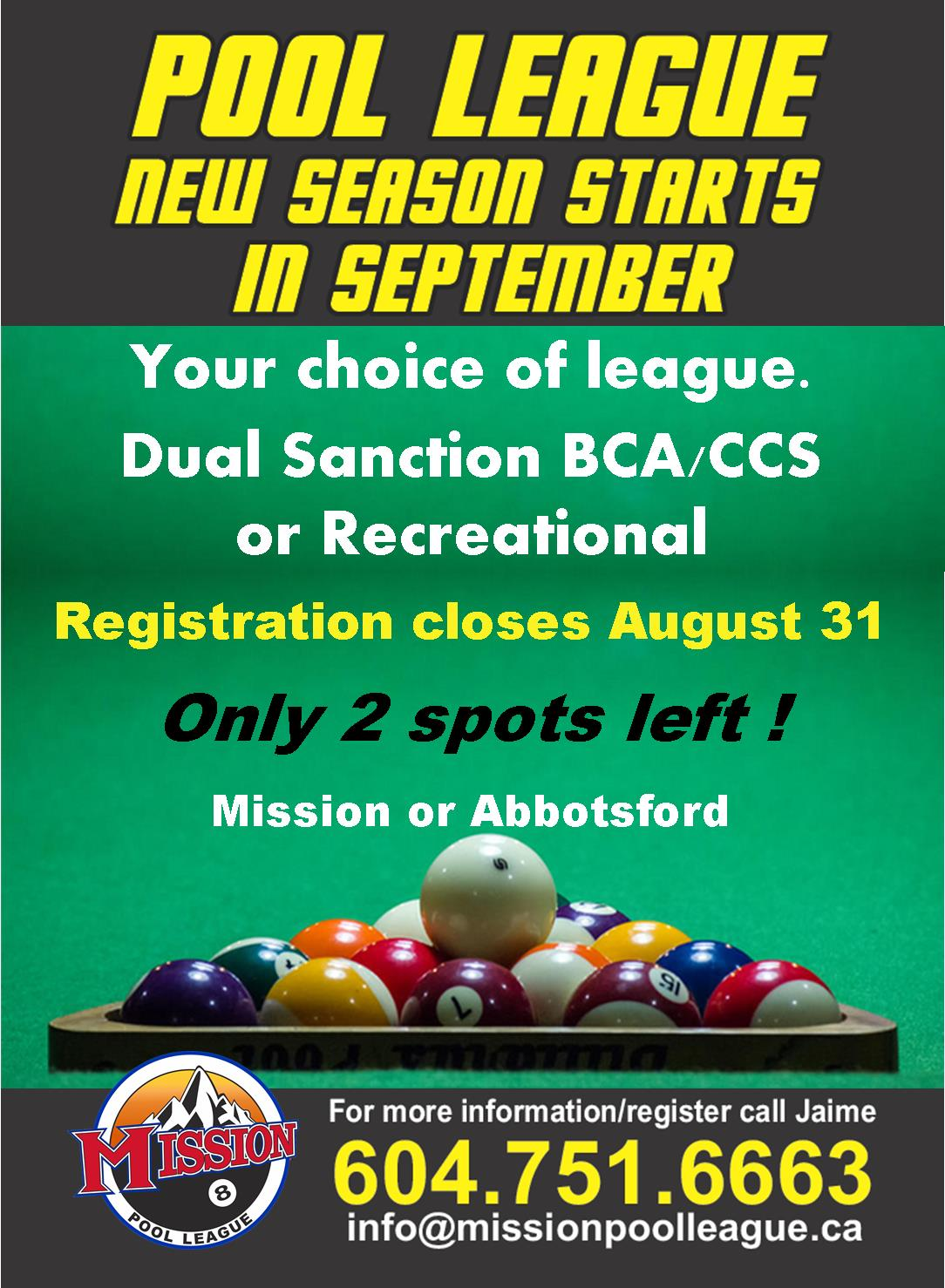 Mission Pool League Share, Share, Share!!!! - Mission Pool